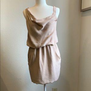 THEORY dusty rose dress